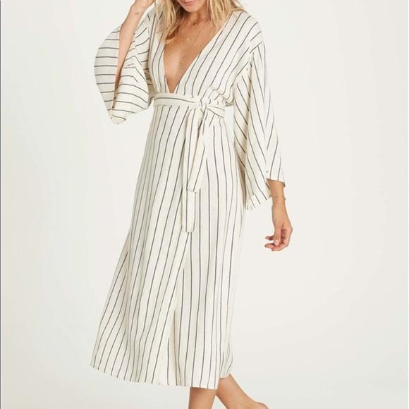 f408530eaefbf Billabong Dresses   Robe Life Wrap Midi Dress Bnwt   Poshmark